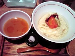 麺と心 7 浸しつけそば 海老白湯ひやひやver.