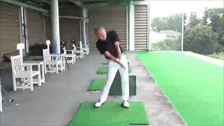 右手ゴルフ2