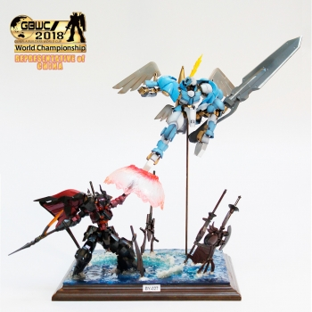 JUNIOR COURSE CHAMPION -GBWC2018 FINALIST- 中国