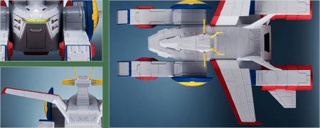 輝艦大全 11700 ペガサス級強襲揚陸艦2番艦 ホワイトベース (5)