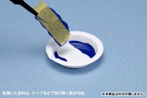 白い塗料皿 ベーシックタイプ(8枚入) (3)