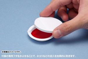 白い塗料皿 ベーシックタイプ(8枚入) (2)