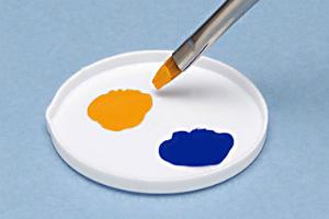 白い塗料皿 ベーシックタイプ(8枚入) (1)t