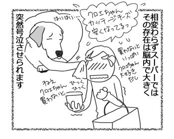 羊の国のラブラドール絵日記シニア!!「クロエちゃんの影響力」4