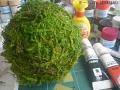 苔玉っぽいものを作る3