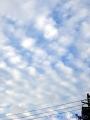 モコモコな雲