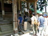 2018-07-14重箱石しろぷーうさぎ・中尊寺ハス祭り173
