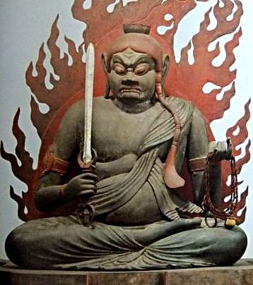醍醐寺元中院安置・不動明王坐像(重文・平安)