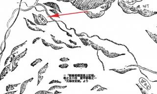 「新編相模国風土記稿」卷之五十四 愛甲郡卷之一「元禄改定図」より