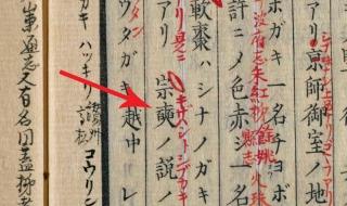 本草綱目啓蒙巻26「柿」から-1
