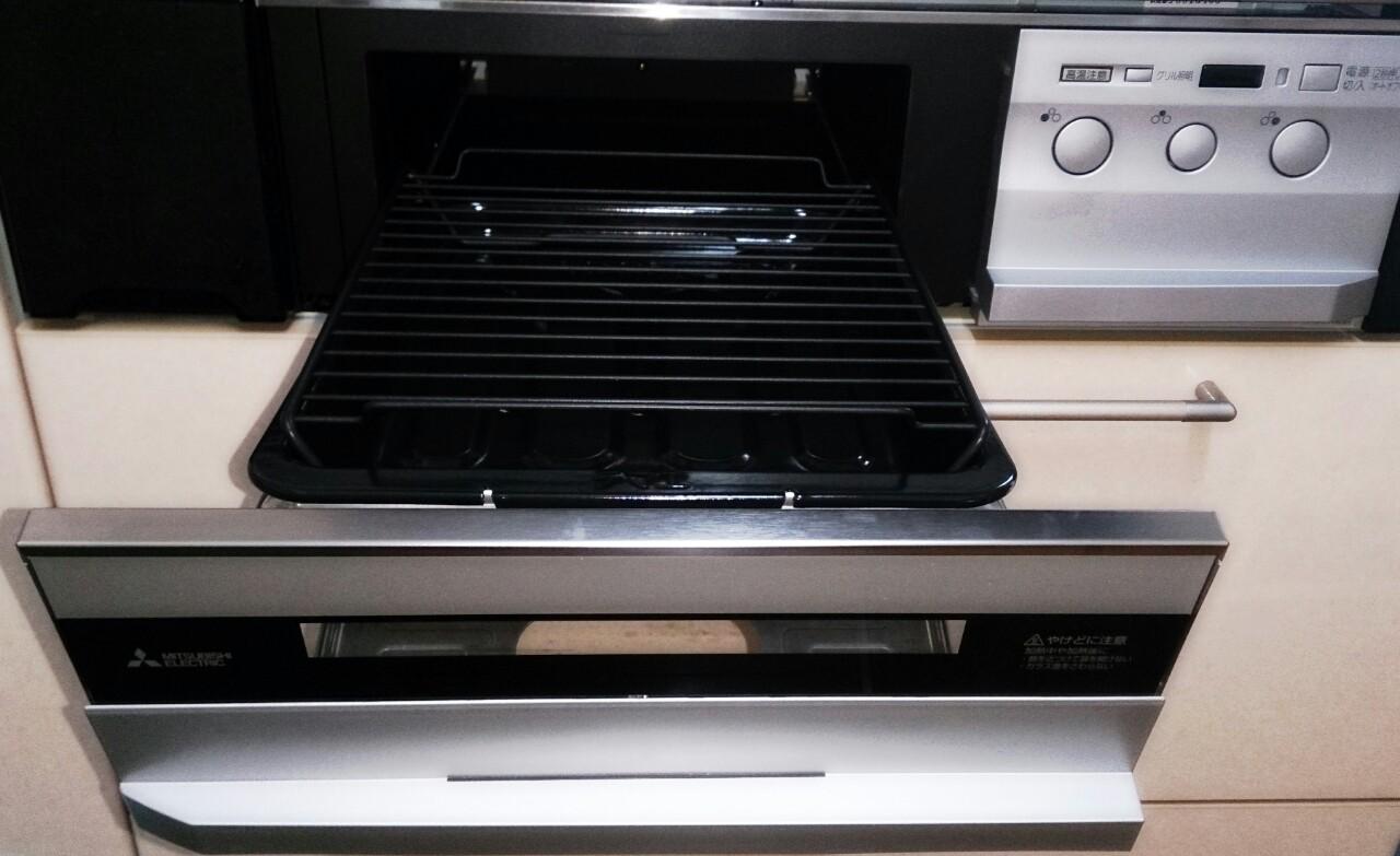 IH調理器のびっクリアオーブンはお掃除ラクラクでした!