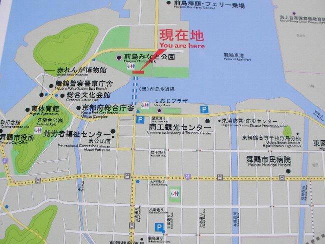 201507260941舞鶴東港界隈地図 ①