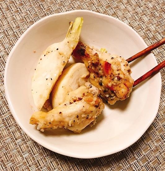 鶏手羽元と蕪のオーブン焼き9