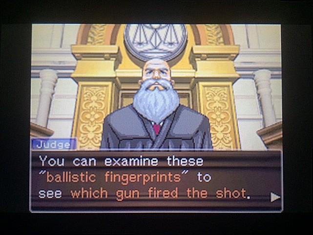 逆転裁判 北米版 拳銃と弾丸に繋がりは?19
