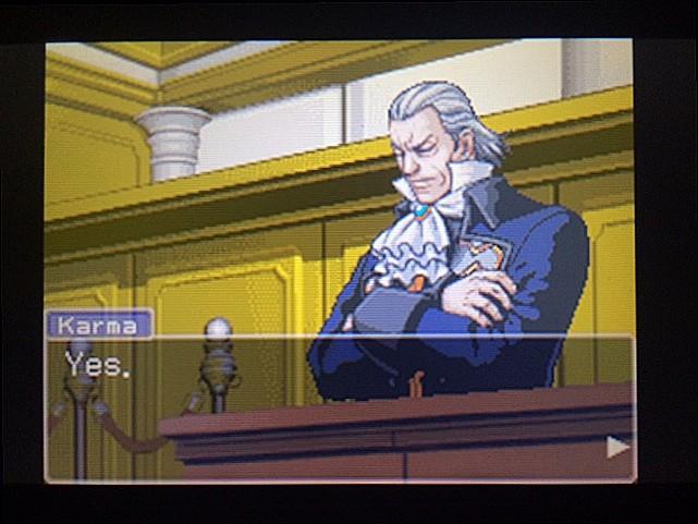 逆転裁判 北米版 ロッタの証言開始3