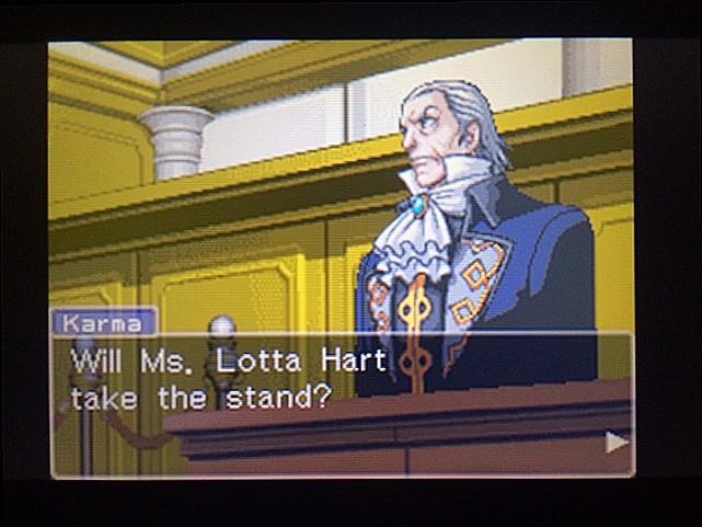 逆転裁判 北米版 ロッタの証言開始4