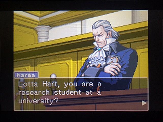逆転裁判 北米版 ロッタの証言開始5