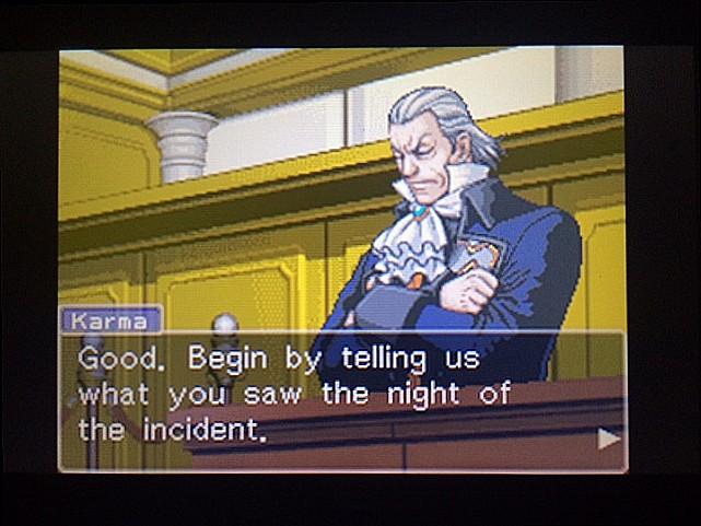 逆転裁判 北米版 ロッタの証言開始7