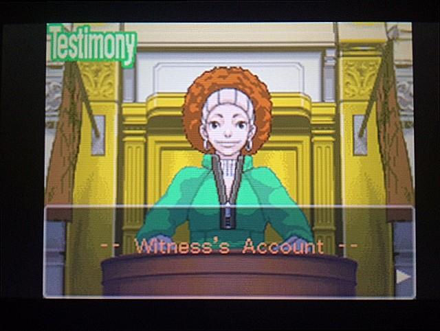 逆転裁判 北米版 ロッタの証言開始14