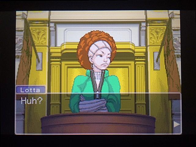 逆転裁判 北米版 ロッタの証言開始23