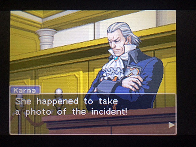 逆転裁判 北米版 ロッタの証言開始25