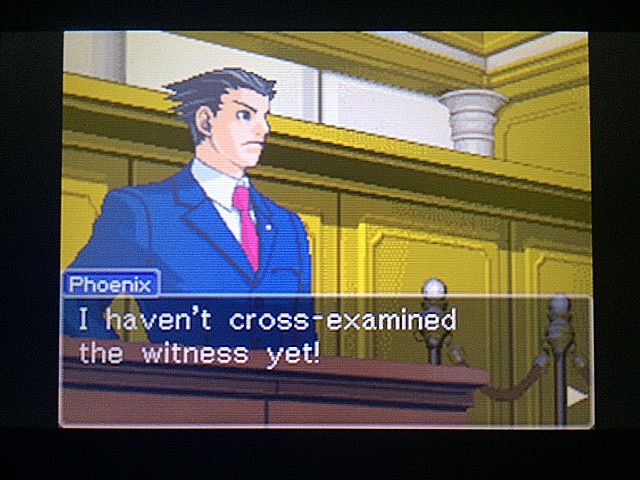 逆転裁判 北米版 ロッタの証言開始38