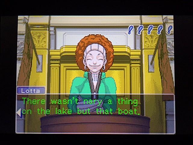 逆転裁判 北米版 ロッタの証言に反対尋問45