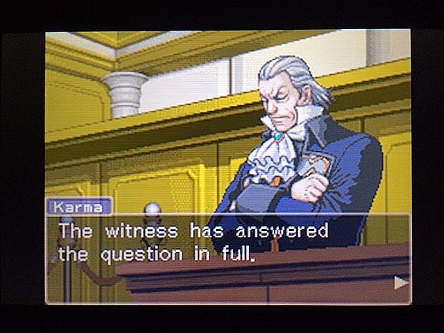 逆転裁判 北米版 ロッタの証言に反対尋問54