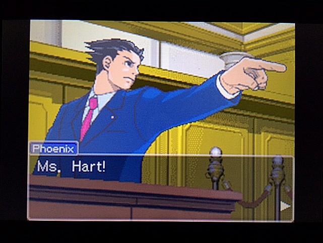 逆転裁判 北米版 拡大写真3