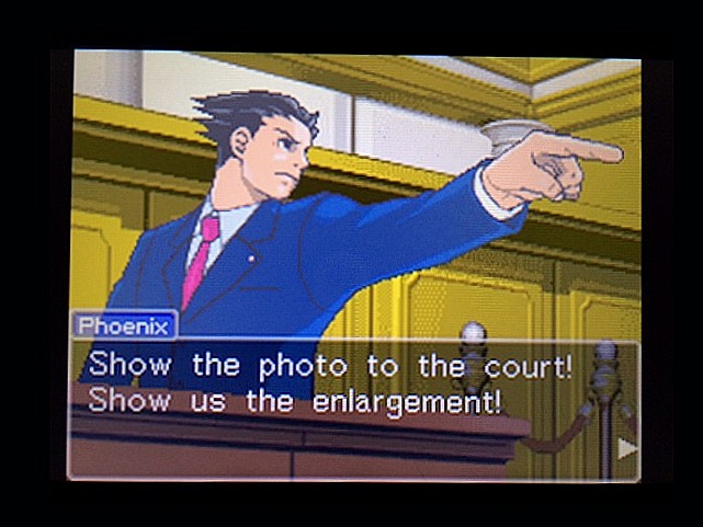 逆転裁判 北米版 拡大写真4