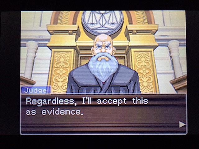 逆転裁判 北米版 拡大写真11