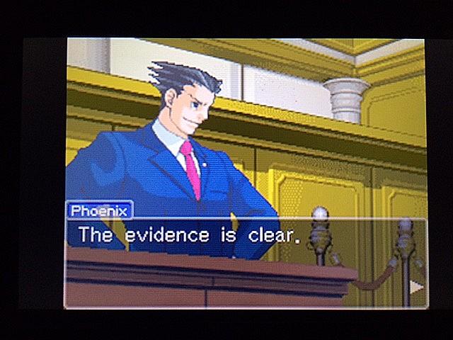 逆転裁判 北米版 拡大写真に写る矛盾20