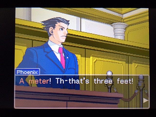 逆転裁判 北米版 左手の写真右手の指紋22