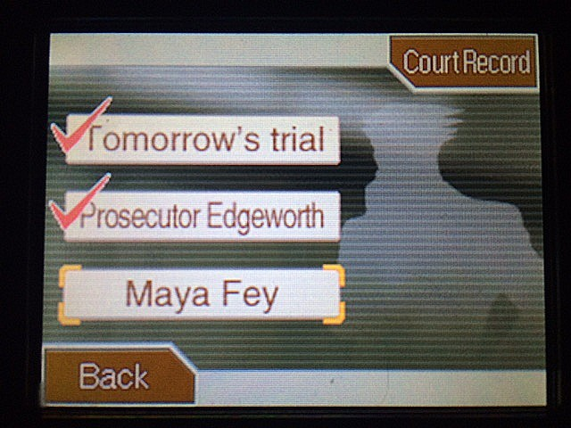 逆転裁判 北米版 ガムシューの語るエッジワースとマヤ34