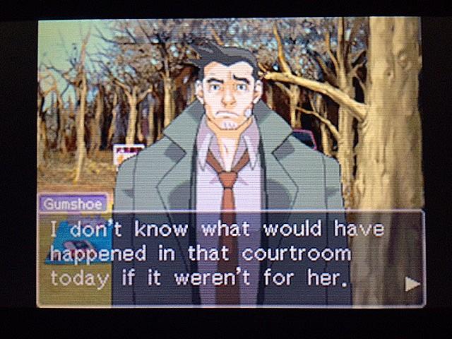逆転裁判 北米版 ガムシューの語るエッジワースとマヤ38