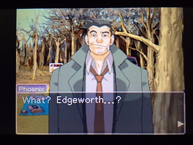 逆転裁判 北米版 ガムシューの語るエッジワースとマヤ48
