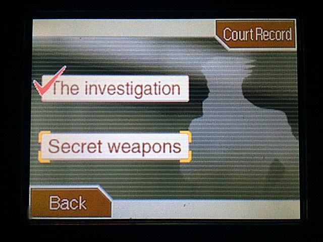 逆転裁判 北米版 ガムシュー刑事の秘密兵器1