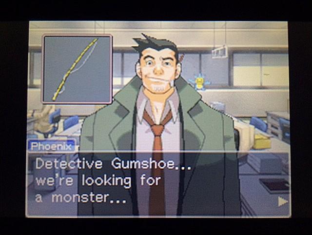 逆転裁判 北米版 ガムシュー刑事の秘密兵器15