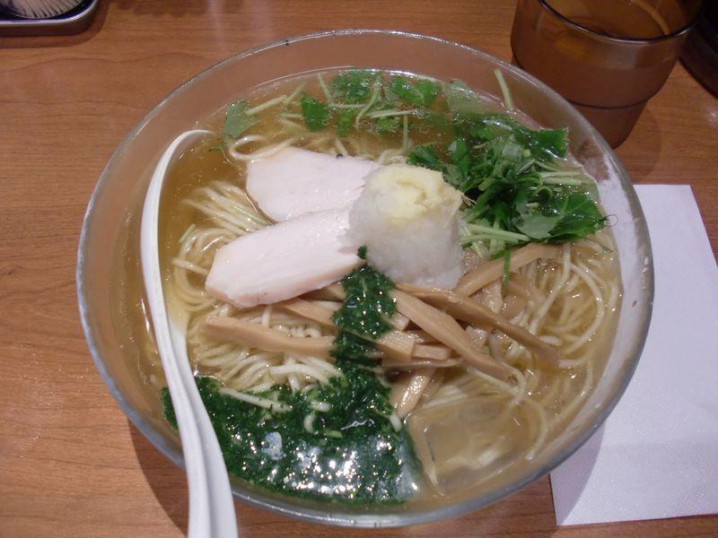 福の神食堂@秋葉原・20150820・鯵煮干し