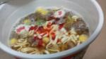 明星食品「明星 チャルメラカップ ゲゲゲの鬼太郎 ねこ娘の旨辛味噌」