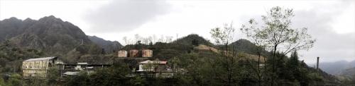 足尾銅山製錬所全景
