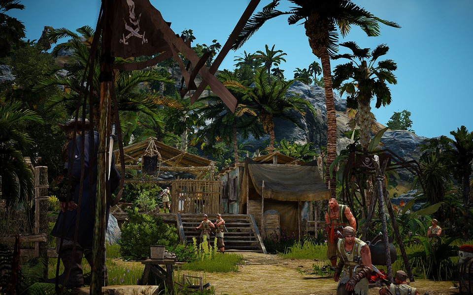 基本プレイ無料の人気のノンターゲティングアクションRPG『黒い砂漠』 8月26日に海賊たちが潜む新エリアに凶悪な新ボスモンスターを追加!「荒れくれ者が集う島」を実装