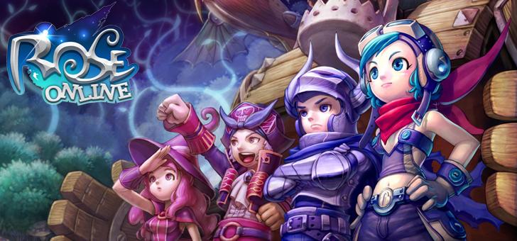 ファンタジーMMORPG『ローズオンライン』 基本プレイ無料