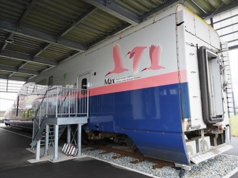 JR東日本 E4系 新幹線 電車【新潟市新津鉄道資料館】