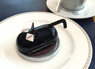 20181016セルリンホテル_ハロウィン黒猫チョコ