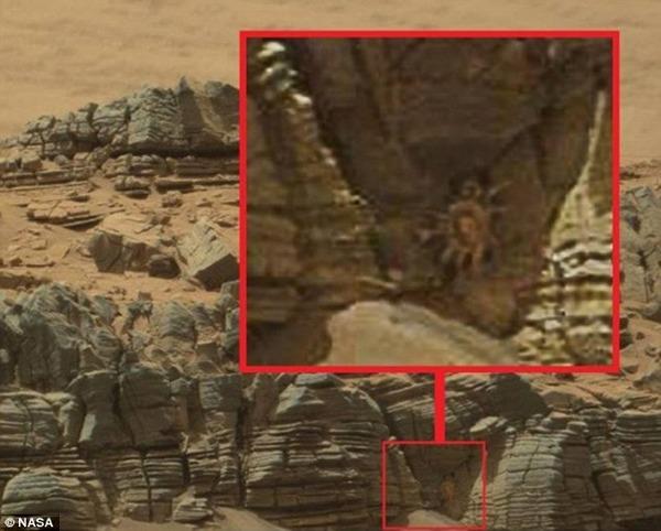 【NASA】火星にカニのような生物が写っている画像が公開される