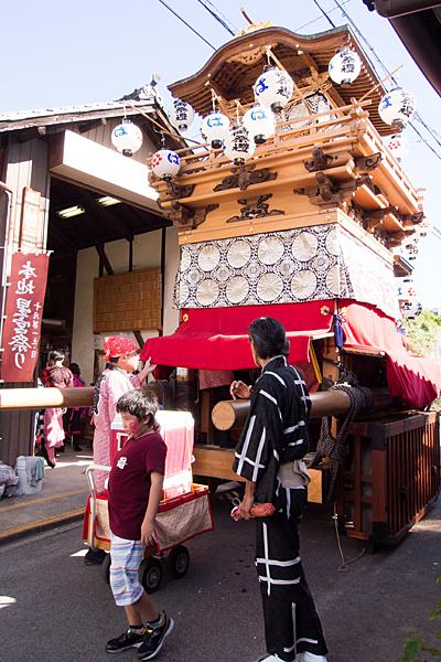 星宮社本地祭り山車