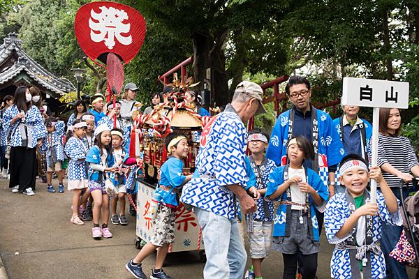 成海神社例祭子供会