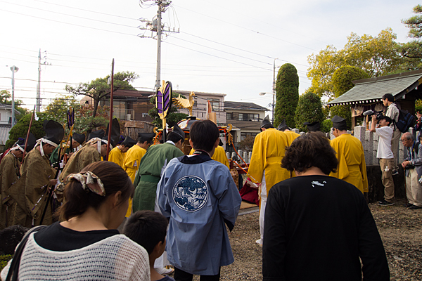 成海神社例祭御旅所神事
