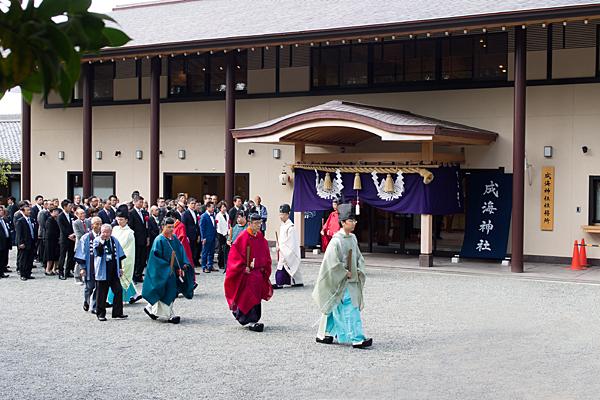 成海神社例祭始まる
